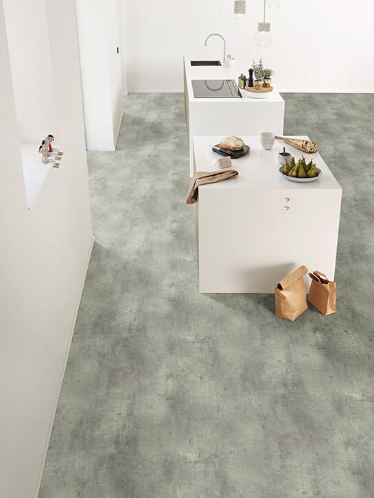 Interfloor Dynamic Concrete kleur 510 keuken